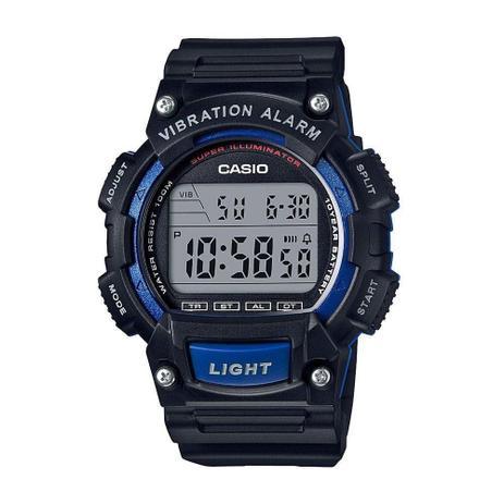 29ec1a2b4b6 Relógio Masculino Casio Digital W-736H-2AVDF - Preto Azul - Relógio ...
