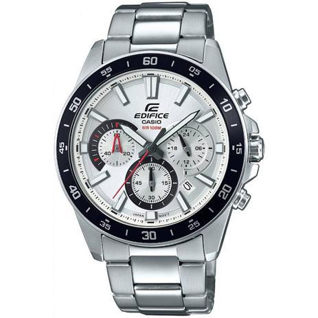 09f36cff3dc Relógio Masculino Casio Edifice EFV-570D-7AVUDF - Prata - Relógio ...