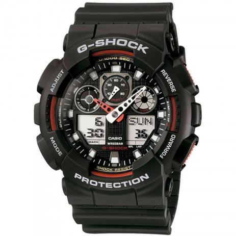 5e18c31a035 Relógio Masculino Casio G-shock GA-100 1A4DR - Relógios - Magazine Luiza