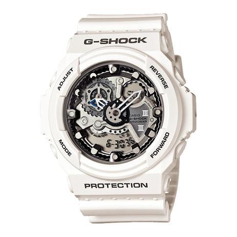 e36a9f0ed24 Relógio Masculino Casio G-Shock GA-300-7ADR 51mm Branco - Relógio ...