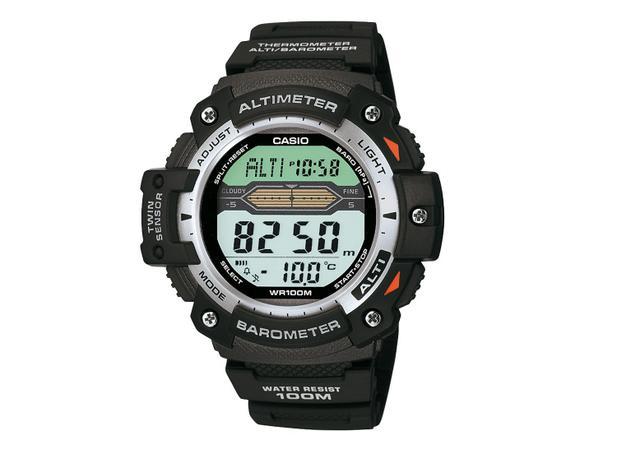 2767ac28864 Relógio Masculino Casio SGW-300H-1AV - Digital Resistente à Água Cronômetro  Calendário