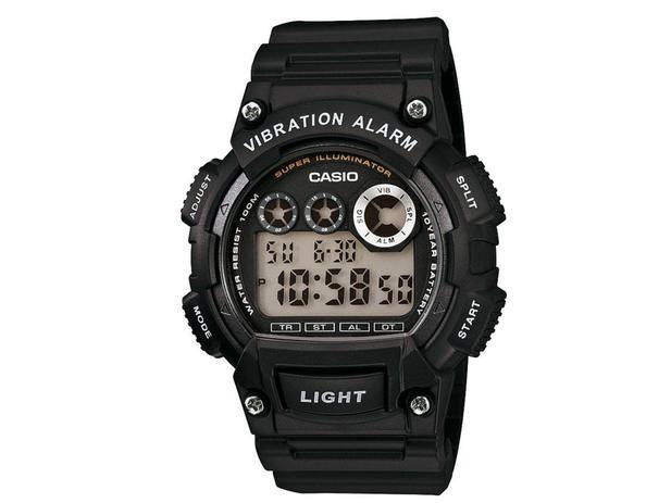 Imagem de Relógio Masculino Casio W-735H-1AVDF - Digital Resistente à Água Cronômetro Calendário