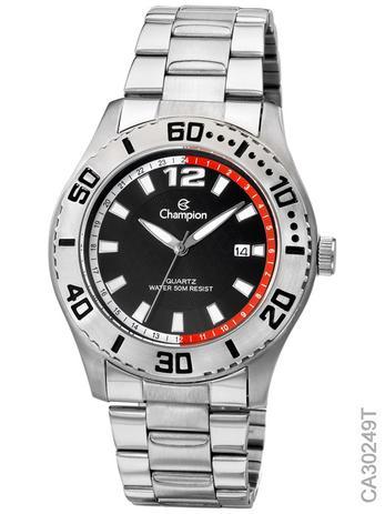 fb72aeacc48 Relógio Masculino Champion Prata CA30249T - Relógio Masculino ...