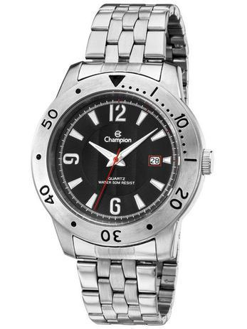 eb0330bd9b3 Relógio Masculino Champion Prata Fosco CA30169T - Relógio Masculino ...