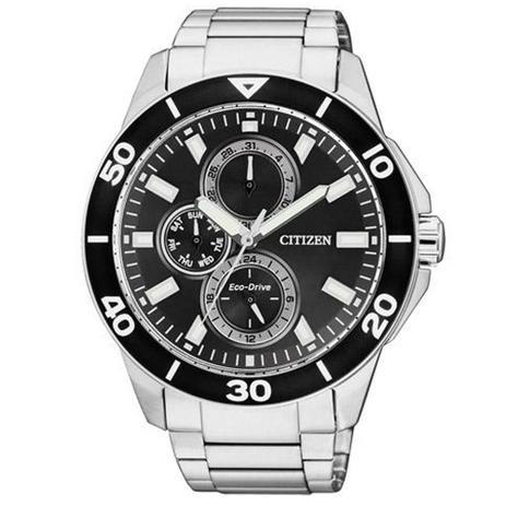 7597f8ac7ef Relógio Masculino Citizen Eco-Drive TZ30491T 43mm Aço Prata ...