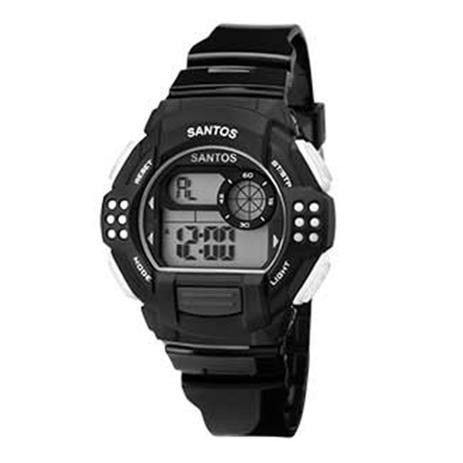 06e974ce623e2 Relógio Masculino Clubes Technos Santos Digital Esportivo Sfc13615 ...