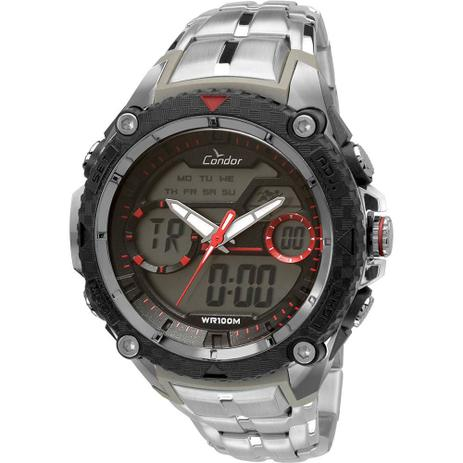 c49a3aeb5b5 Relógio Masculino Condor Analógico COAD1146AA 3R - Prata - Relógio ...