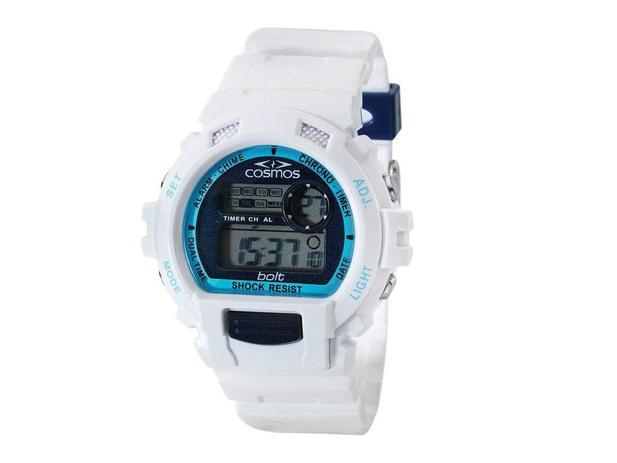 Relógio Masculino Cosmos Digital  - Resistente à Água Cronômetro OS41379S