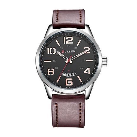 a5a4e57cbc6 Relógio Masculino Curren Analógico 8236 Prata e Preto - Relógio ...