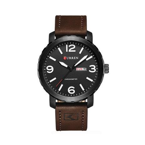 94f3a778c1b Relógio Masculino Curren Analógico 8273 Preto e Branco - Relógio ...