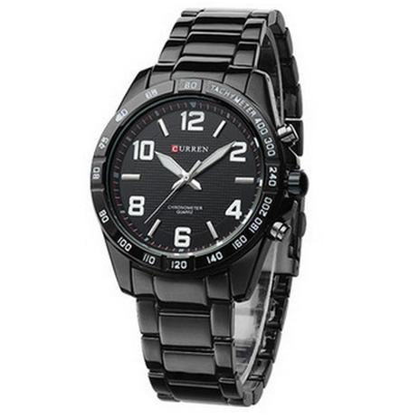 e037136831e Relógio Masculino Curren Analógico Casual 8107 Branco - Relógio ...