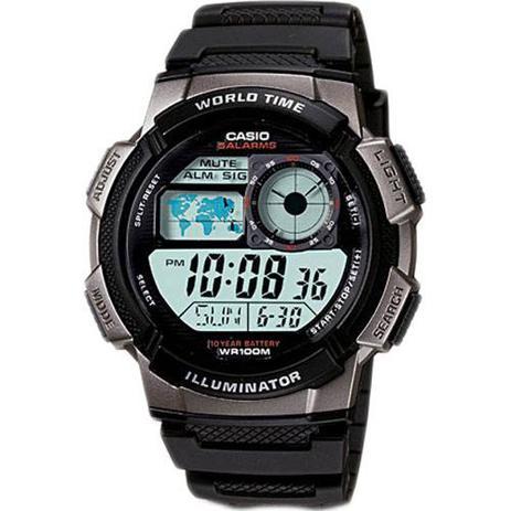 ad71a320b2e Relógio Masculino Digital Casio AE-1000W-1BVDF - Relógio Masculino ...