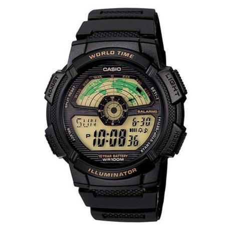 8d4b9a572bf Relógio Masculino Digital Casio AE-1100W-1BVDF - Preto - Casio ...