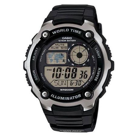 6b5855db2c8 Relógio Masculino Digital Casio AE-2100W-1AVDF - Preto - Relógio ...