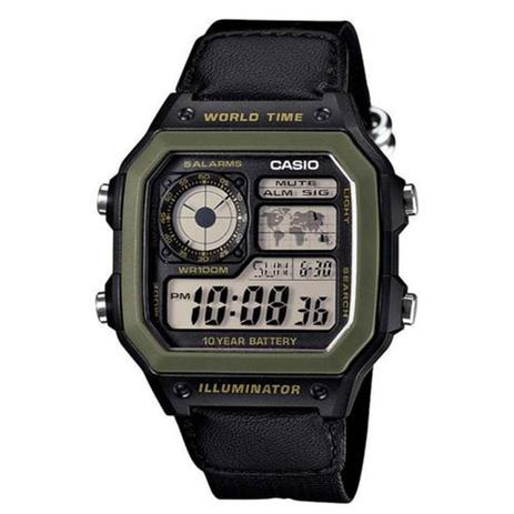 6c38e8cebfb Relógio Masculino Digital Casio AE1200WHB1BVDF - Preto - Casio ...