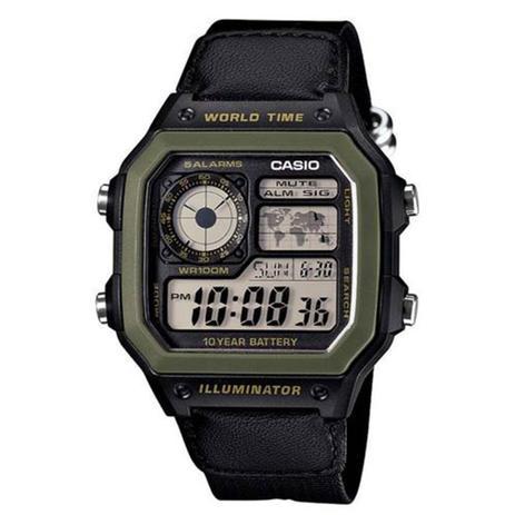 4910a0ab708 Relógio Masculino Digital Casio AE1200WHB1BVDF - Preto - Casio ...