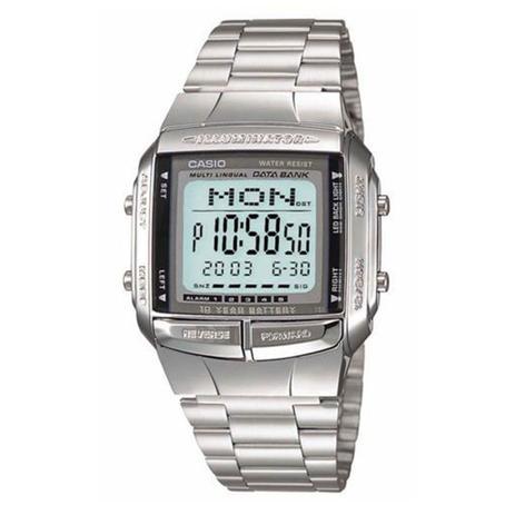 caacb16b53a Relógio Masculino Digital Casio DB3601ADF - Prateado - Casio ...