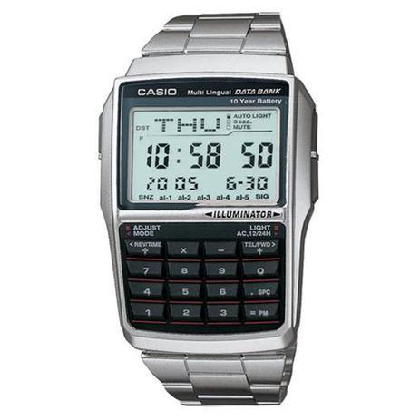 b5d0280e3ee Relógio Masculino Digital Casio DBC32D1ADF - Prata - Relógio ...