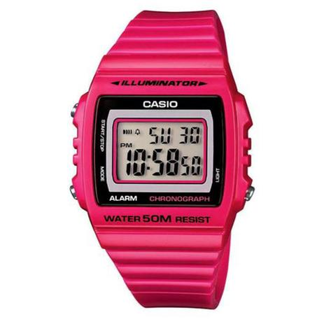 Relógio Masculino Digital Casio W-215H-4AVDF - Rosa - Casio ... 665cd96251