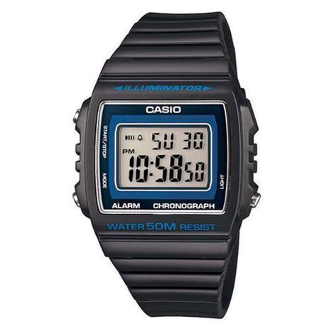 1b14b440dc4eb Relógio Masculino Digital Casio W-215H-8AVDF - Preto - Relógio ...