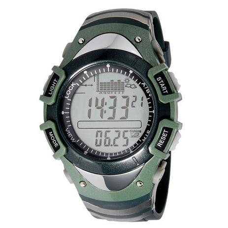 0ef5a928fbd Relógio Masculino Digital Esporte Barometro Altimetro Previsão do Tempo  FX704G Spovan