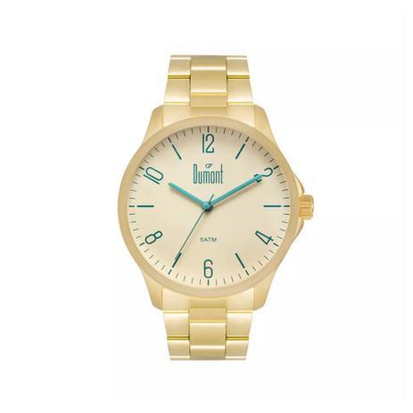 Relógio Masculino Dumont Analógico DU2035LVU 4X Dourado - Relógio ... a557b96c1c