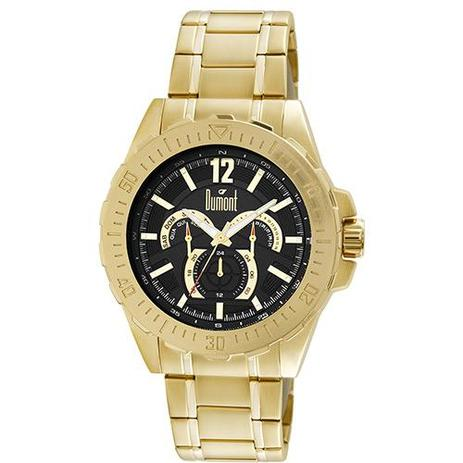 adb544ec07c Relógio Masculino Dumont Multifunção Moderno DU6P29ABT 4P - Relógio ...
