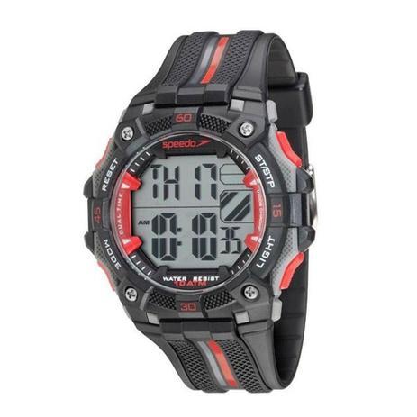 37c071fe34b Relógio Masculino Esportivo Digital Speedo 80629g0evnp3 Preto ...