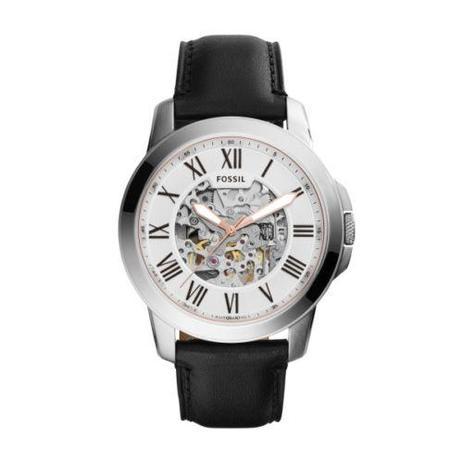 Relógio Masculino Fossil Automático ME3101 0KI 44mm Couro Preto ... 1f5352e9b8