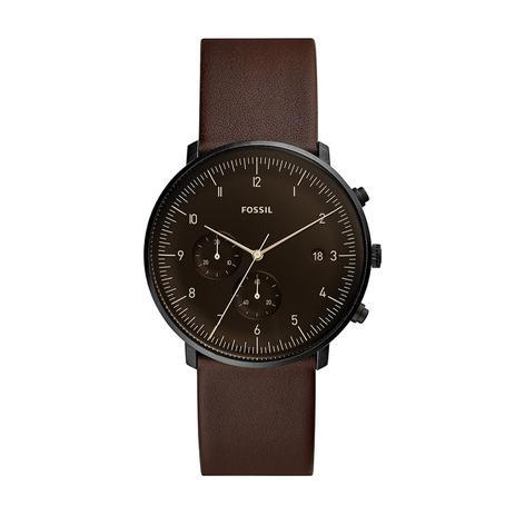 62fa5eff4 Relógio Masculino Fossil Chase FS5485/0PN 42mm Couro Marrom ...