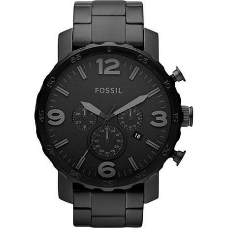 Relógio Masculino Fossil Nate Chronograph FJR1401 Z Preto - Relógio ... 524240862d
