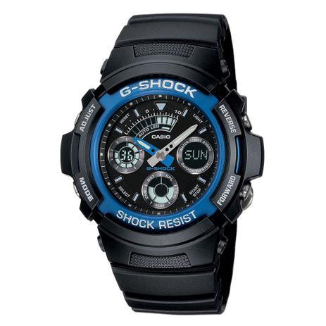 2e6090f84e7 Relógio Masculino G-Shock Analógico Digital AW-591-2ADR - Casio ...