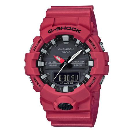 0145288b496 Relógio Masculino G-Shock Analógico Digital GA-800-4ADR - Casio ...