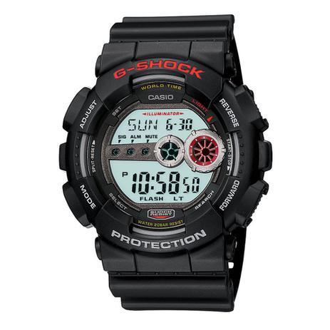 5ab6169a16e Relógio Masculino G-Shock Digital GD-100-1ADR - Casio - Relógio ...