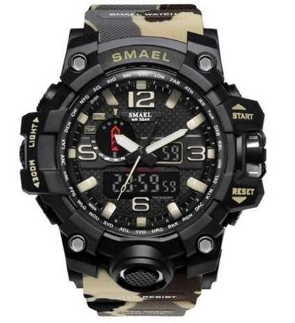 d4cb0bec106 Relógio Masculino G-shock Smael 1545 Prova Dágua Camuflado - Relógio ...
