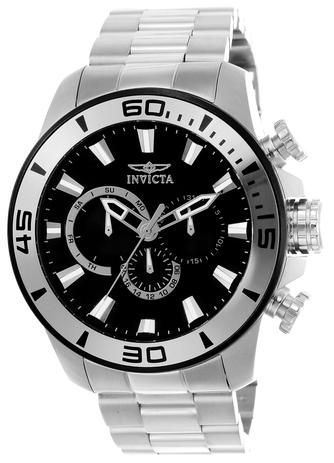 4890375923 Relógio Masculino Invicta Pro Diver 22585 48mm Prata - Relógio ...
