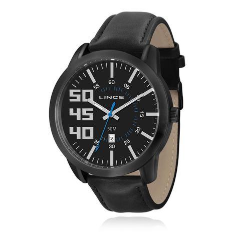 7320d15ffca Relógio Masculino Lince Analógico MRC4270S P2PX Couro - Relógio ...