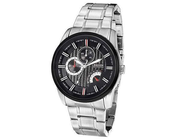 Relógio Masculino Magnum Analógico - MA 32587 T - Relógio Masculino ... dd543ef8e2