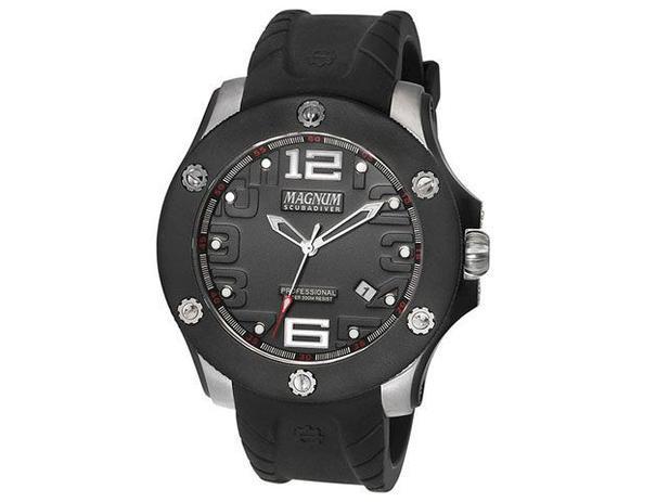 e5a5fae98da Relógio Masculino Magnum Analógico - MA30865T - Relógio Masculino ...