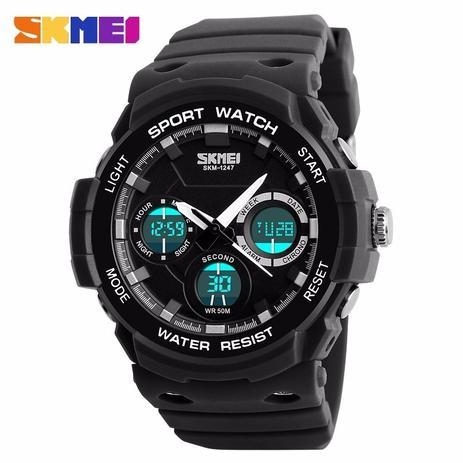 e467dafeb77 Relógio Masculino Militar Esportivo Skmei Digital e Analógico Modelo 1247
