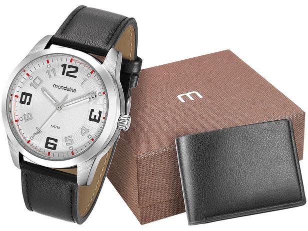 Relógio Masculino Mondaine Analógico - 99047G0MGNH2K com Carteira ... 18a15a8cbf