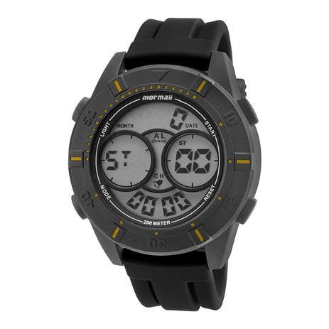 e5cdb0b35d8 Relógio Masculino Mormaii Acqua MO150915AE 8Y 51mm Preto Pulseira Silicone