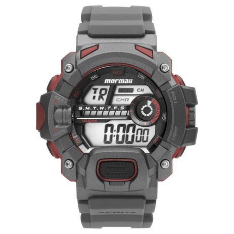 Relógio Masculino Mormaii Digital Action MO1132AE 8R - Cinza ... 3c122daa01