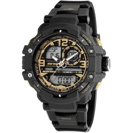 81779c1da8a Relógio Masculino Mormaii Esportivo Anadigi MO0949 8U - Relógio ...