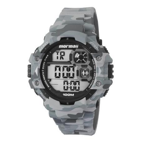 0ffe5624b00a5 Relógio Masculino Mormaii MO13609A 8C 55mm Cinza Camuflado - Relógio ...