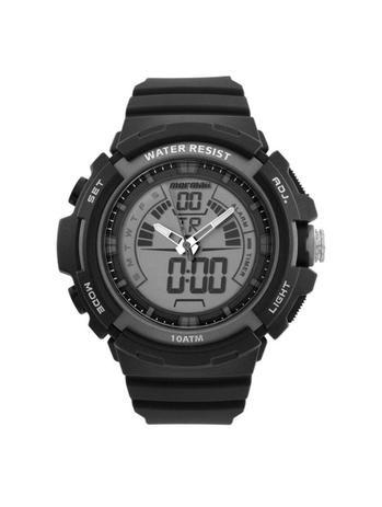 c2f4c418ed Relógio Masculino Mormaii MOAD08902 8C 55mm Pulseira Borracha Preta ...