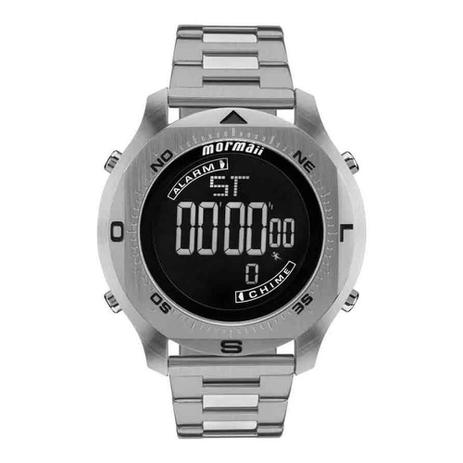 e331df9ab27 Relógio Masculino Mormaii PRO Digital MO11273C 1P - Prata - Relógio ...