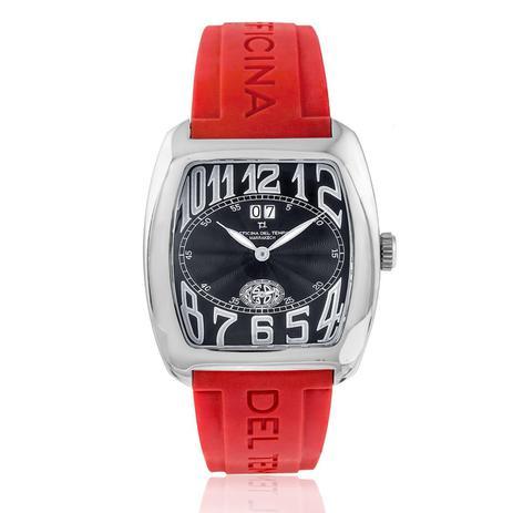 1efc249173a90 Relógio Masculino Officina Del Tempo Marrakech com Calendário