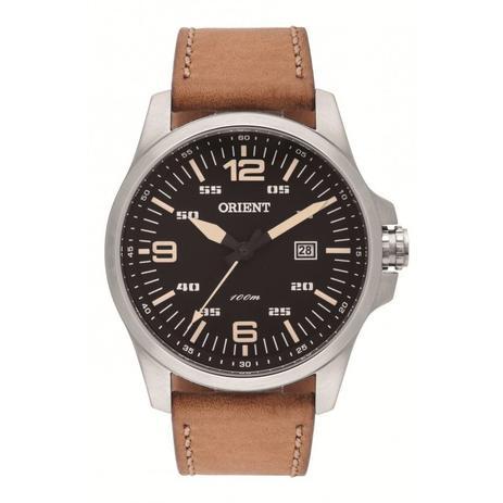 1b5e9a4ba6b Relógio Masculino Orient Analógico MBSC1023P - Prata - Relógio ...