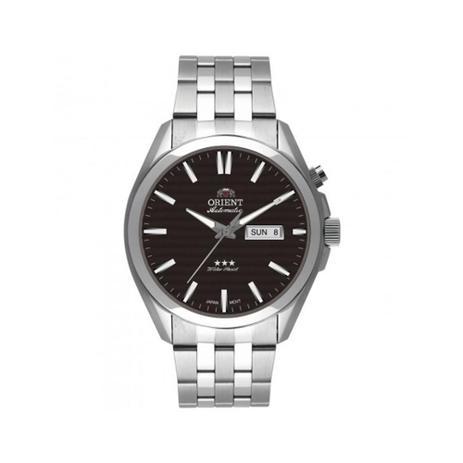 9a67d7426ce Relógio Masculino Orient Automático 469SS041 P1SX - Prata - Relógio ...